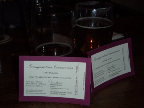 The unused tickets and beers of SFL & HF (picture by SFL)
