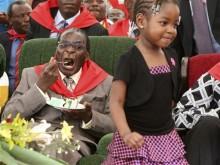 APTOPIX ZIMBABWE MUGABE