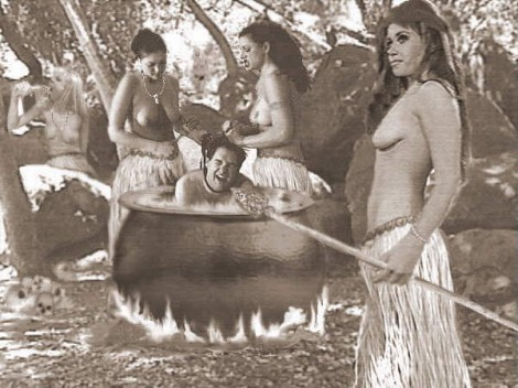 Lesbian Amazons Will Eat Disarmed White Guys Under the Obamacare Plan