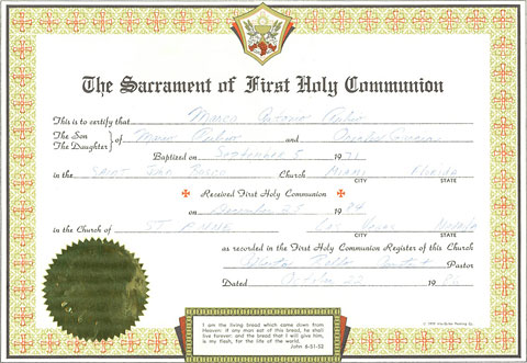 Marco Rubio S First Communion Buzzfeed